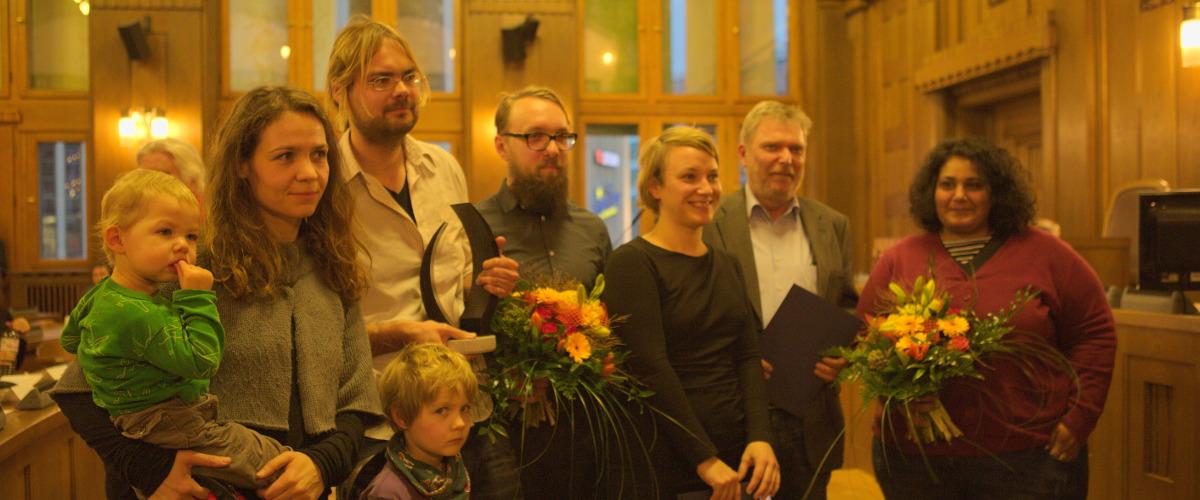 Bild: Verleihung des Chemnitzer Friedenspreises am 3. März